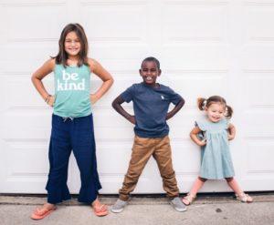 3 enfants souriants | Orthodontie des Laurentides à St Jérôme